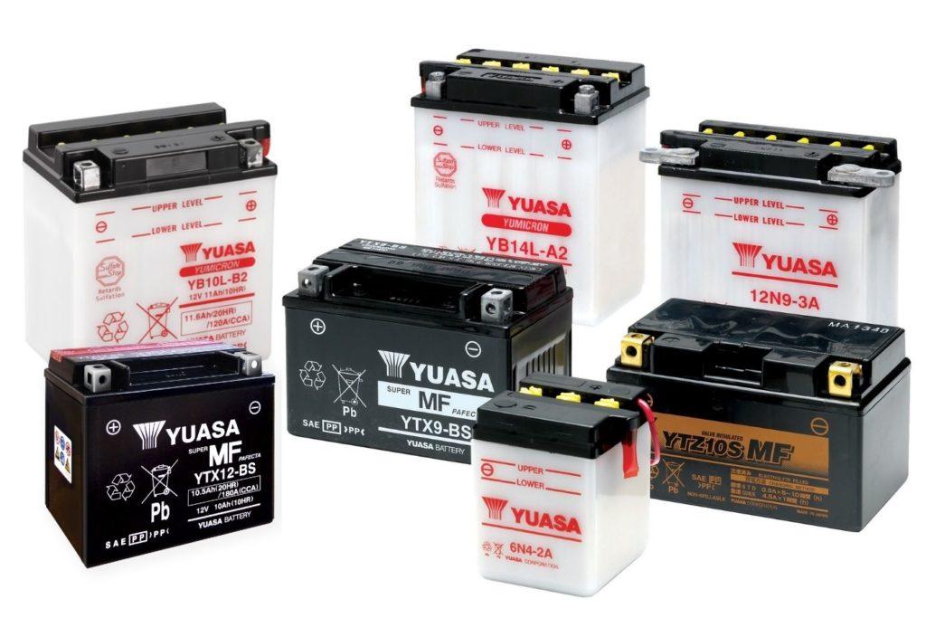 Batería Moto Yuasa
